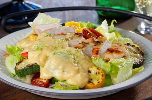 南瓜田園雞肉沙拉
