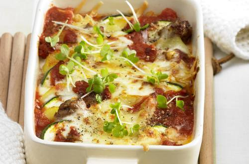 Gschwellti-Zucchetti-Tomaten-Gratin
