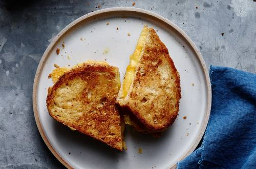 Perfectly Crispy Grilled Cheese Strangewich