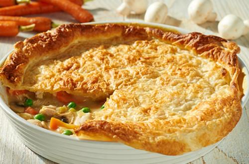 Kip ovenschotel met groenten