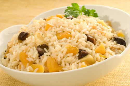 Rice Saute with Dried Fruit