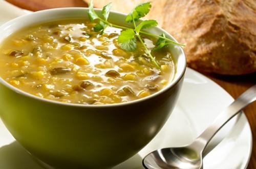 Sopa de elote y jalapeno