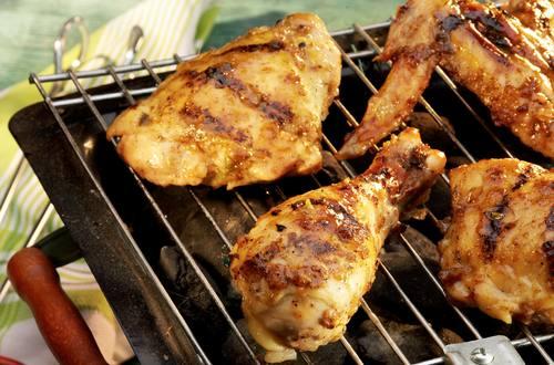 Pollo a la parrilla con cítricos