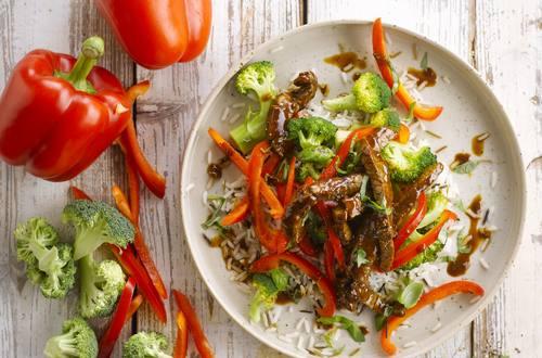 Knorr - Pfannen-Geschnetzeltes mit Broccoli