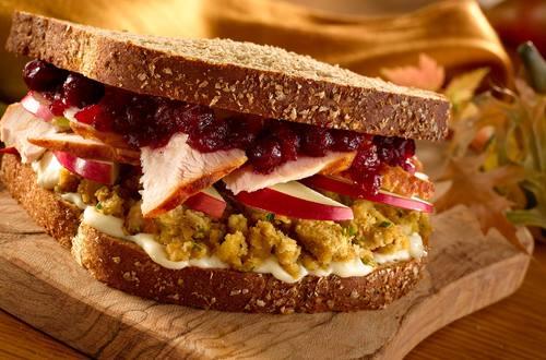 Receta de sándwich de pavo
