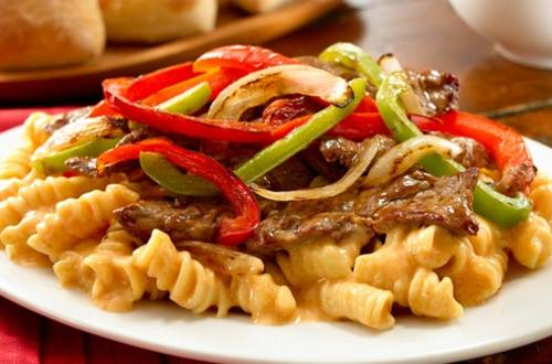 Chipotle Cheesesteak Pasta