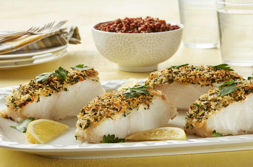 Lime Crusted Cod