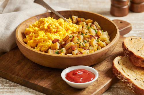Tender and Fluffy Scrambled Eggs