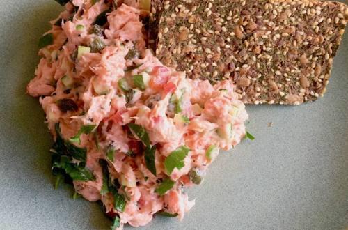 Jean-Francois Archambault's Salmon Rillettes (Spread)
