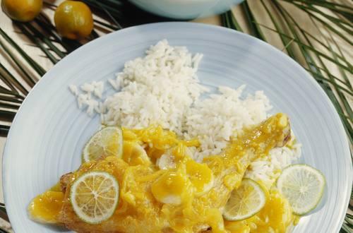 Knorr - Hähnchenkeulen mit Banane