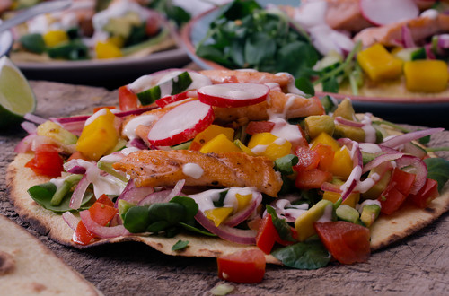 Grilled Rainbow Trout Tacos
