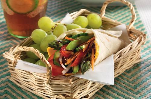 Farmers Market Veggie Wrapwich