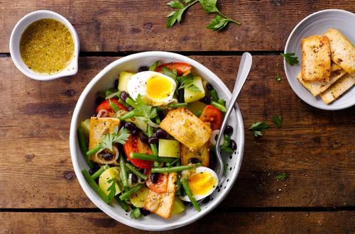 Knorr - Kartoffel-Bohnen-Salat mit Tofu