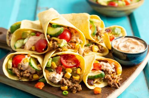 Enchilada's met lekker veel groente
