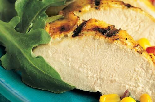 Pollo a la parrilla con mostaza y miel fácil de preparar
