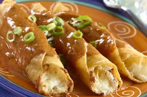 Spicy Potato Flautas