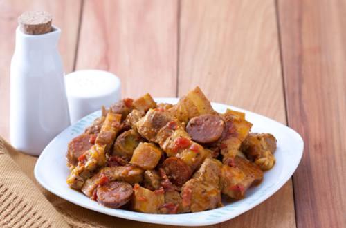 Pork and Chorizo Salpicado Recipe