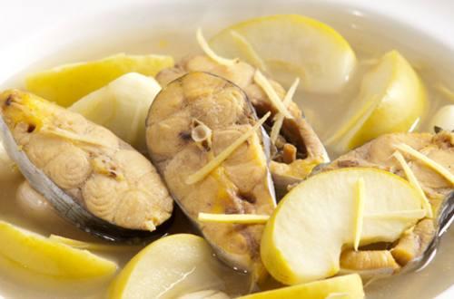 Sup Apel Ikan Patin