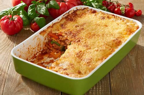 Knorr - Schnelle Gemüse-Hack-Lasagne