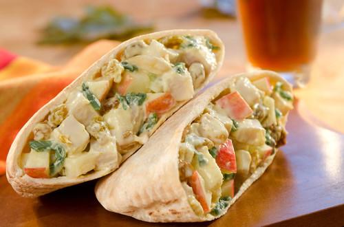 Curried Turkey Sandwiches