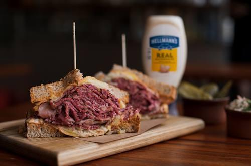Mogg's Salt Beef Sandwich