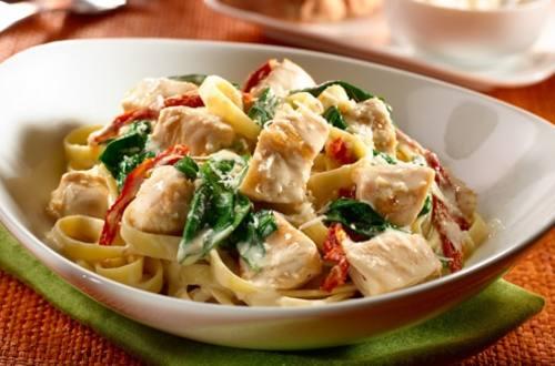 Chicken & Pasta Florentine