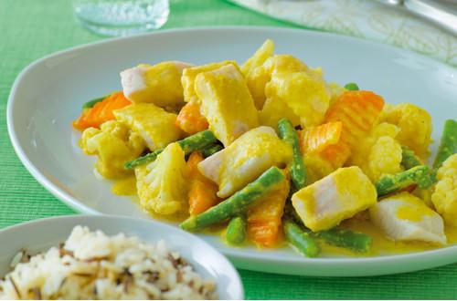 Pangasius-Gemuese-Curry