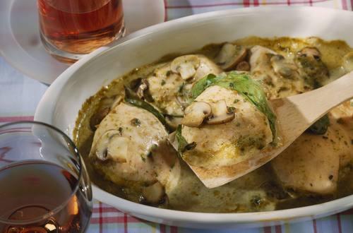 Knorr - Bärlauch-Hähnchen