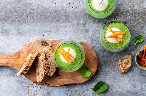 Knorr - Spargelsuppe mit Ei