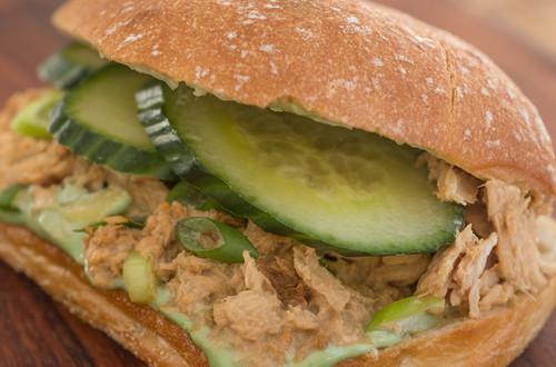 Strangewich au thon frais et wasabi piquant