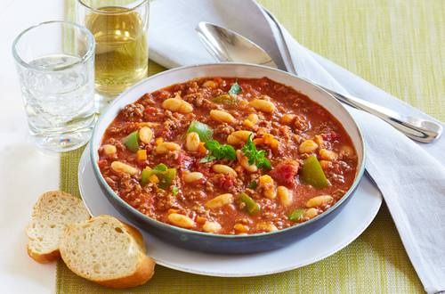 Chili con Carne mit Baked Beans