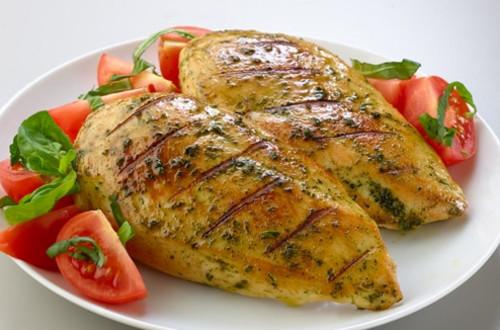 Pesto Rubbed Chicken