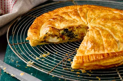 Chicken, Spinach & Ricotta Pithivier