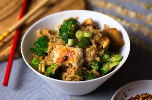 Chicken & Broccoli Teriyaki