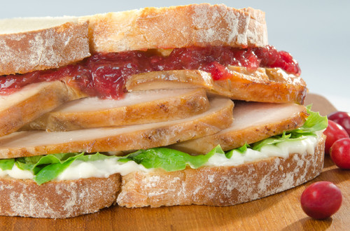 Turkey & Cranberry Sandwiches