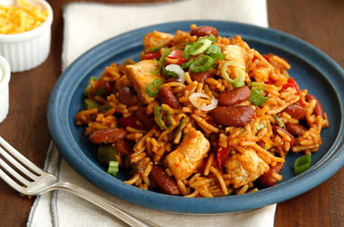 Hearty Chili Chicken & Rice