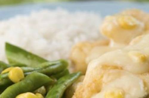 Tasty Cream Dory in Corn Sauce Recipe
