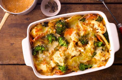 Kartoffel Gemüse Auflauf