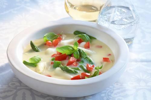 Knorr - Weiße Spargel-Tomatensuppe