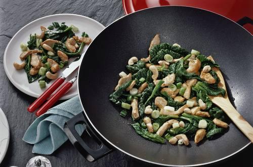 Knorr - Hähnchen-Spinat-Pfanne