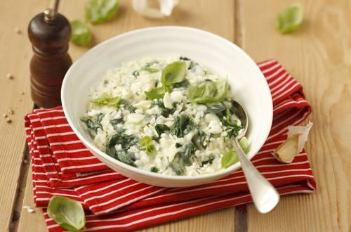 Knorr - Risotto mit Spinat und Feta