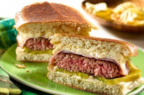 Hamburguesa cubana