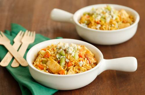 Buffalo Chicken Amp Rice Skillet Knorr