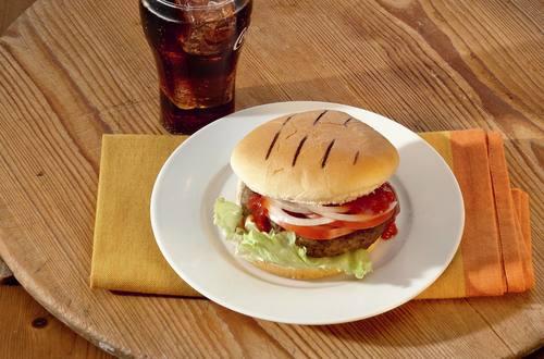 BBQ-Hamburger