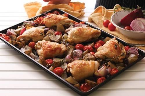 Provencal Chicken Bake