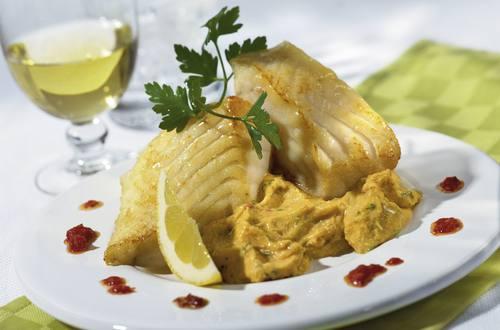 Knorr - Fischfilet mit Kichererbsencreme