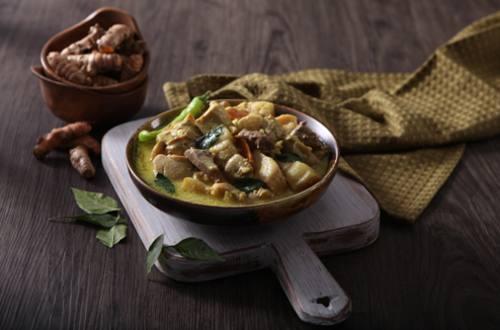 Adobong Gata sa Luyang Dilaw Recipe