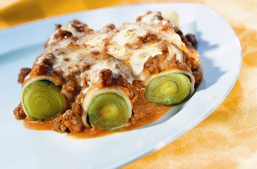 Lauch-Cannelloni