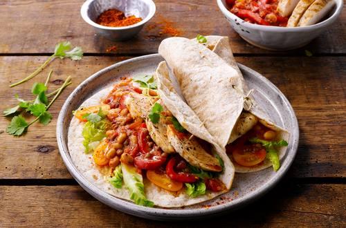Knorr - Mexikanische Vollkorntortilla mit Huhn
