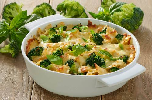 Nudel-Broccoli-Gratin